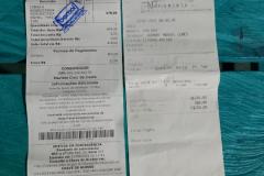Kauf einer kleinen Einhell-Schleifmaschine sowie Dachnägel