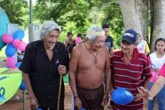 Dies sind die Freunde im Dorf Suruí Aikewara, die letzte Woche im Dorf an Covid gestorben sind