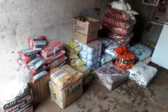 Erhalt und Verteilung von Spenden