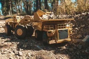 Bergbau: Verbrauch von Ressourcen