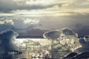 Die Antarktis schmilzt