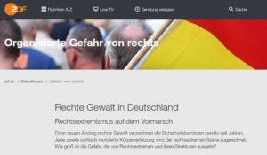 ZDF: Gefahr von Rechts