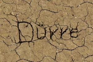 Dürre und Wassermangel
