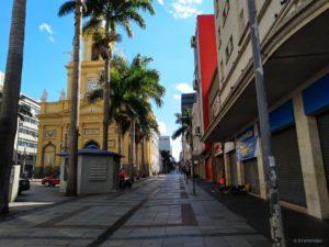 Quarantäne in Campinas, Brasilien - Rua 13 de Maio