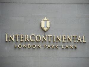Intercontinental Hotel in London: Zimmer für Obdachlose