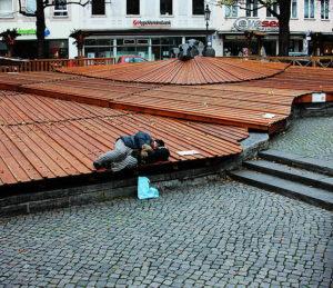 Obdachlosigkeit steigt in Deutschland