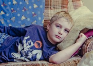 Kinder in Armut sind häufiger krank