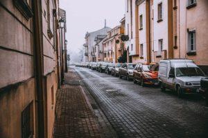 leere Stadt