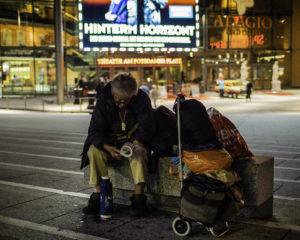 Obdachlose in der Corona-Krise