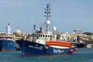 Rettungsverbot für Seawatch