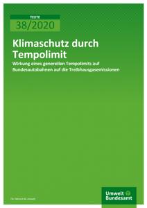 Umweltbundesamt: Klimaschutz durch Tempolimit