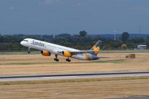 Fluggesellschaft Condor in Not