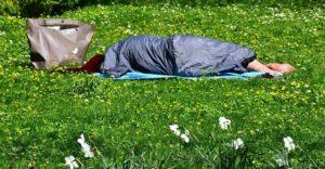 Obdachlose in der Coronakrise