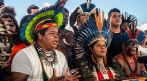 Indigene der Vereinigimg APIB stellen Forderungen an die Regierung Bolsonaros