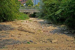 Wasser wird in Deutschland sichtbar knapp