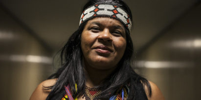 Sonia Guajajara, Aktivistin im Amazonas