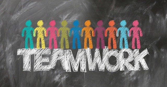 Teamwork: Gemeinsam sind wir stark