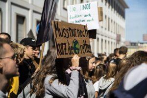 Klimastreik: wir Menschen müssen an uns denken!