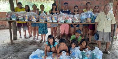 Spende an eine Gemeinde der Kambeba in Amazonas