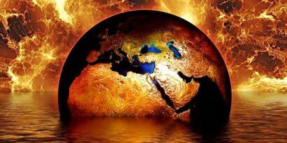Der Globus brennt