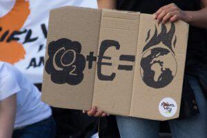 Klimawandel durch Kapital und Emissionen